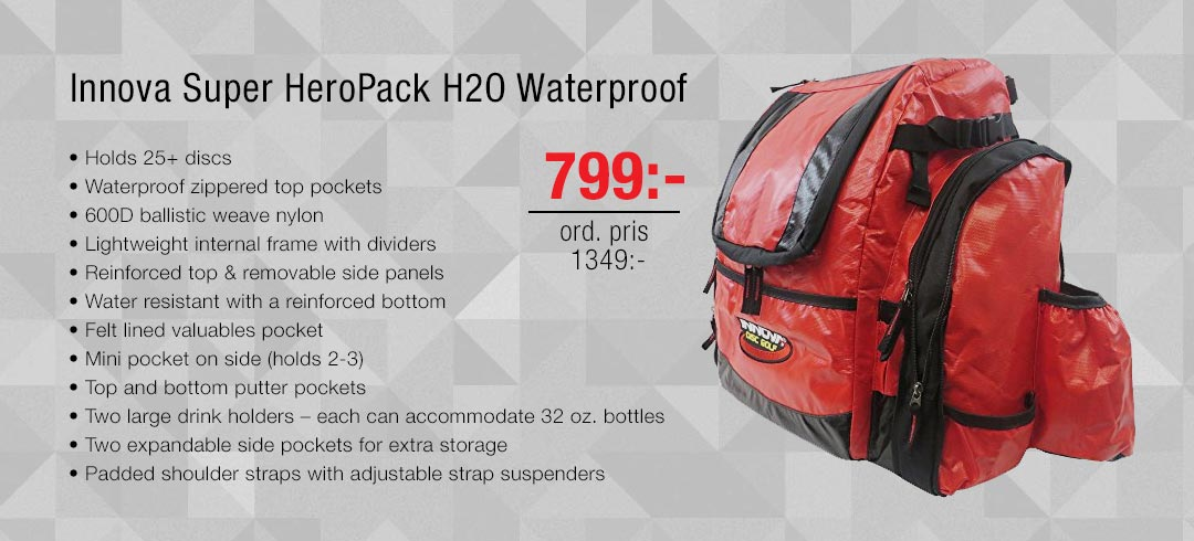 Innova Super HeroPack H2O Waterproof
