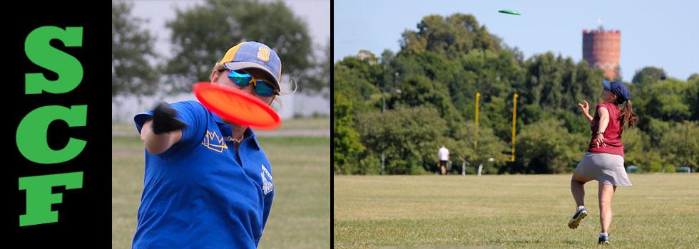 Frisbee Self Caught Flights