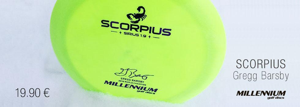 Millenium Sirius Scorpius Gregg Barsby