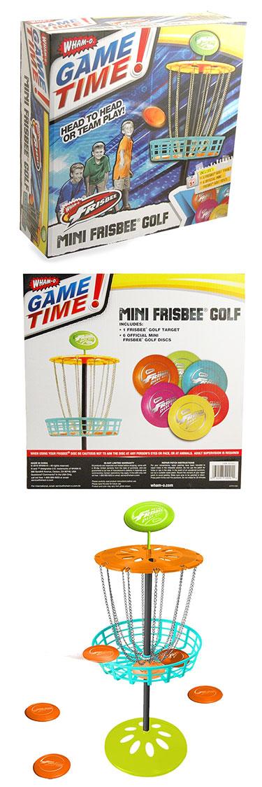 Wham-O Mini Disc Golf Basket Set