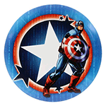 Truth DyeMax Captain America Star Badge