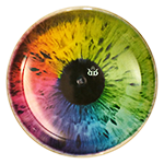 Caltrop DyeMax Colorful Eye