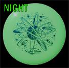U-MAX 175g Night Glow Frisbee
