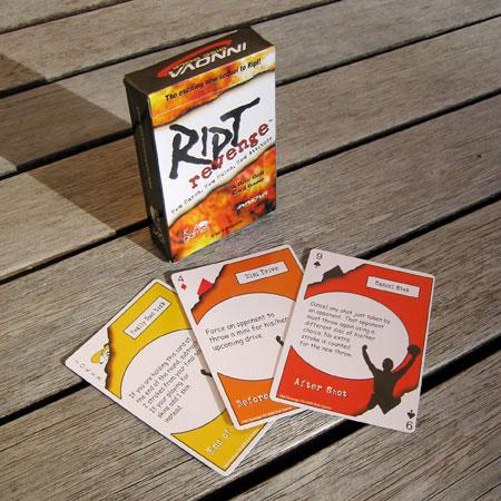 RIPT Disc Golf Card Game